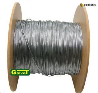 Linka stalowa fi 1,2 mm do ogrodzenia elektrycznego 100 m