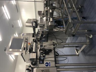 Zestaw sorterów i urządzeń firmy BBC do sortowania borówki wysokiej
