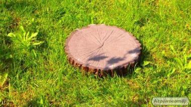 Krążek drewnopodobny o średnicy 25 cm