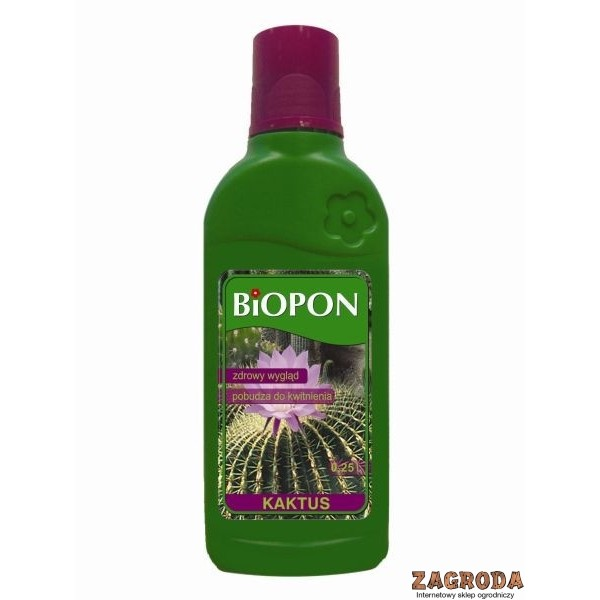 Nawóz płynny do kaktusów BIOPON 0,25L