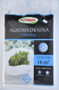 Agrowłóknina zimowa 3,2m x 5m Agrimpex