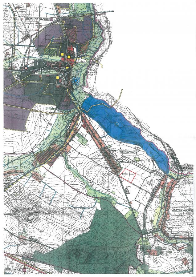 LICYTACJA 6,52ha blisko budowanego jeziora, do października PILNE