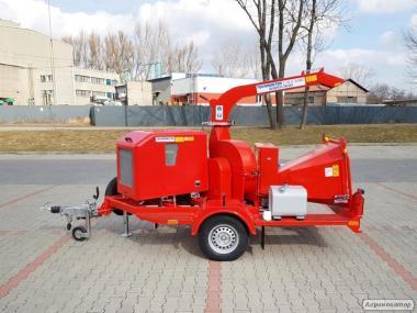 Mobilny rębak do gałęzi TEKNAMOTOR Skorpion 250 SDT