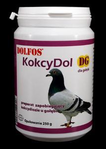 KOKCYDOL preparat zapobiegający kokcydiozie u gołębi 250g