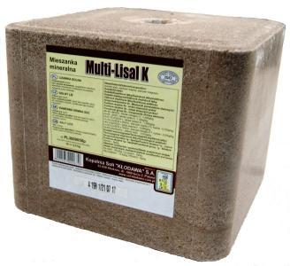 Lizawka solna Multi-Lisal K 10 kg