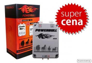 Pastuch elektryczny Powerbull 600A + zasilacz