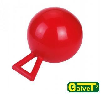 Piłka dla zabawy dla koni czerwona