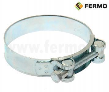 Łącznik obejma do rur PCV fi 90mm do systemów paszowych