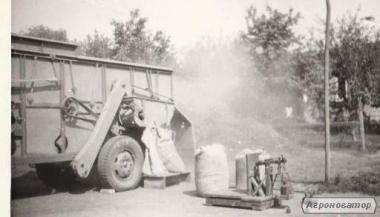 maszyna do omłotów i jednoczesnego bukowania roślin drobnoziarnistych