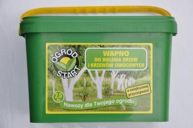 Wapno do bielenia drzew i krzewów 2,5kg