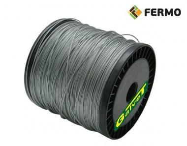 Linka stalowa fi 1,2 mm do pastucha elektrycznego 500 m