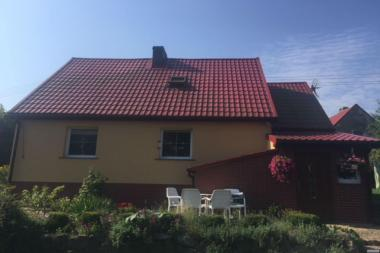 Na Sprzedaż mały , zadbany , czysty Dom na Wsi ( 60km od Szczecina )