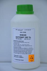 Kwas octowy 500ml