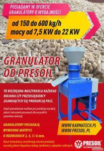 Granulator 100/200/400/600 kg/h