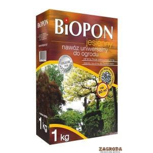 Nawóz jesienny uniwersalny do ogrodu BIOPON 1kg
