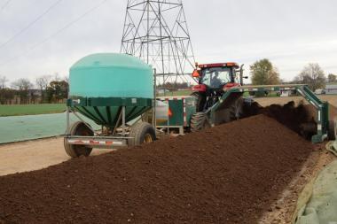 Kompost lignina i obornik