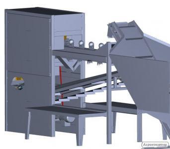 Maszyna do obierania cebuli na biało PMK P100
