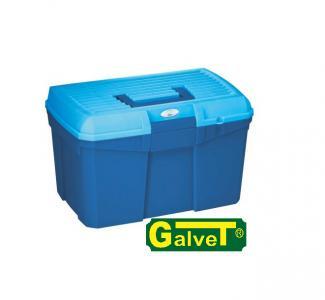 Pudełko dwukolorowe granat/niebieski