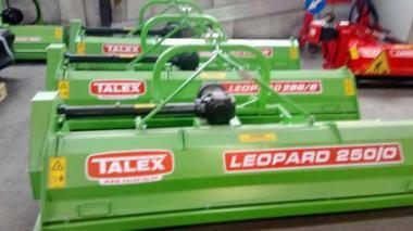 Kosiarka rozdrabniacz bijakowy do traw kukurydzy LEOPARD TALEX ugorów