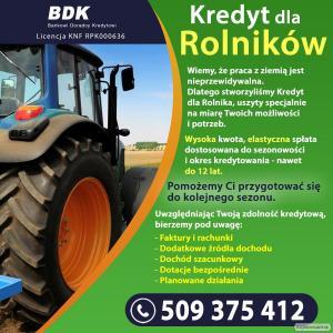 Finansowanie dla Rolników (Cała Polska)