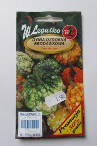 Dynia ozdobna Brodawkowa W.Legutko