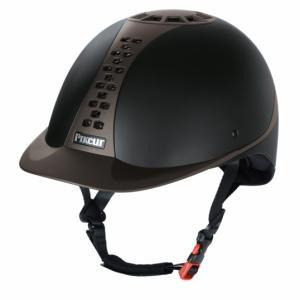 Kask Pro Safe Classic - czarno-brązowy