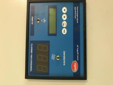 Sterownik wentylacji, temperatury, oświetlenia