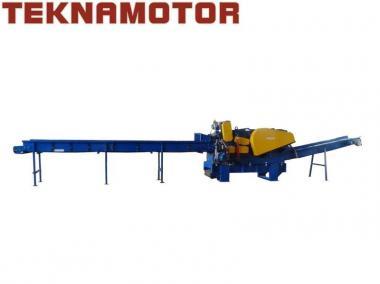 Rębak do zrzyn tartacznych z podajnikiem wibracyjnym Skorpion 650 EB