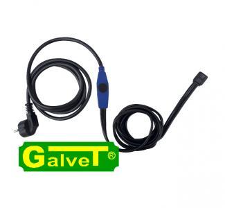 Kabel grzejny 230V, z termostatem - 8 m, 117W