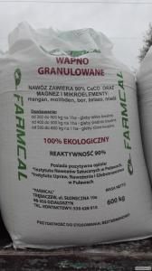 Nawóz wapniowy granulowany 90%