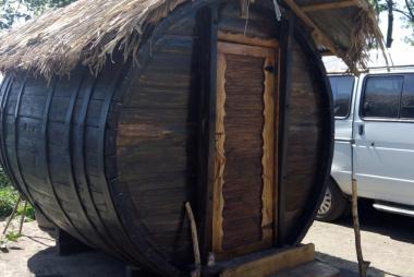 Beczka drewniana