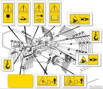 Naklejki na maszyny WSZYSTKIE Naklejki do piktogramy ostrzegawcze
