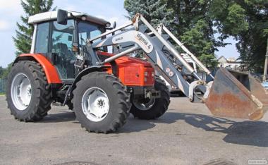 Ciągnik rolniczy SAME SILVER 95 + SIGMA 4