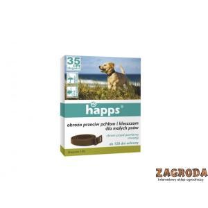 Krople spot-on przeciw pchłom i kleszczom dla małych psów do 10 kg HAPPS