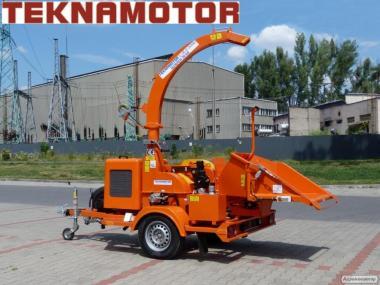 Bębnowy rębak mobilny do gałęzi TEKNAMOTOR Skorpion 280 SDB