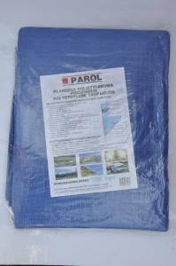 Plandeka polietylenowa niebieska (5x8m) 90g PAROL