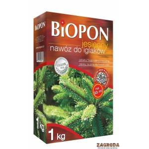 Nawóz jesienny do iglaków BIOPON 1kg