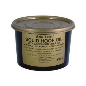 Solid Hoof Oil Black Gold Label olej do kopyt 500ml