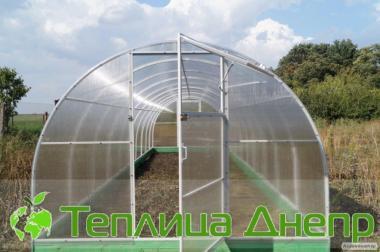 Tunele z poliwęglanu z ocynkowanym szkieletem