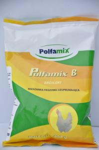Polfamix B Brojlery 400g – mieszanka paszowa uzupełniająca