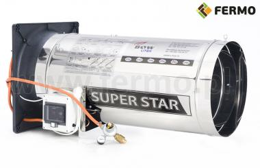 Nagrzewnica gazowa 75kW Super Star ogrzewanie kurników, chlewni i obór