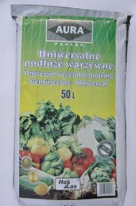 Uniwersalne podłoże warzywne z piaskiem 50 L Hollas Aura