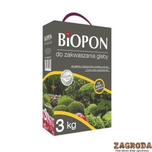 Nawóz do zakwaszania gleby BIOPON 3kg