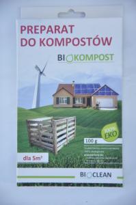 Preparat do kompostów 100g BIOCLEAN
