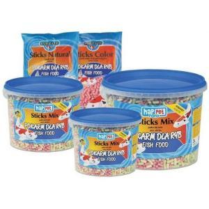 Pokarm dla ryb Gran Mix - granulki trójkolorowe 5L