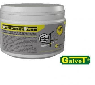 Sanidenn Tabs - preparat do utylizacji nieczystości w oczyszczalniach biologicznych 48 tabletek