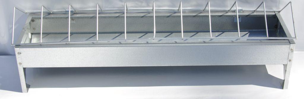Karmnik dla drobiu ocynkowany 10x50cm