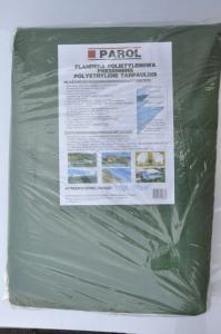 Plandeka polietylenowa zielona (5x8m) 180g PAROL