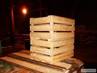Skrzynia drewniana z forniru