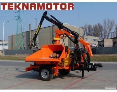 дробилка, дробилка, rębak Skorpion 500RB - Teknamotor